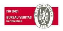 certification iso 50001 veritas
